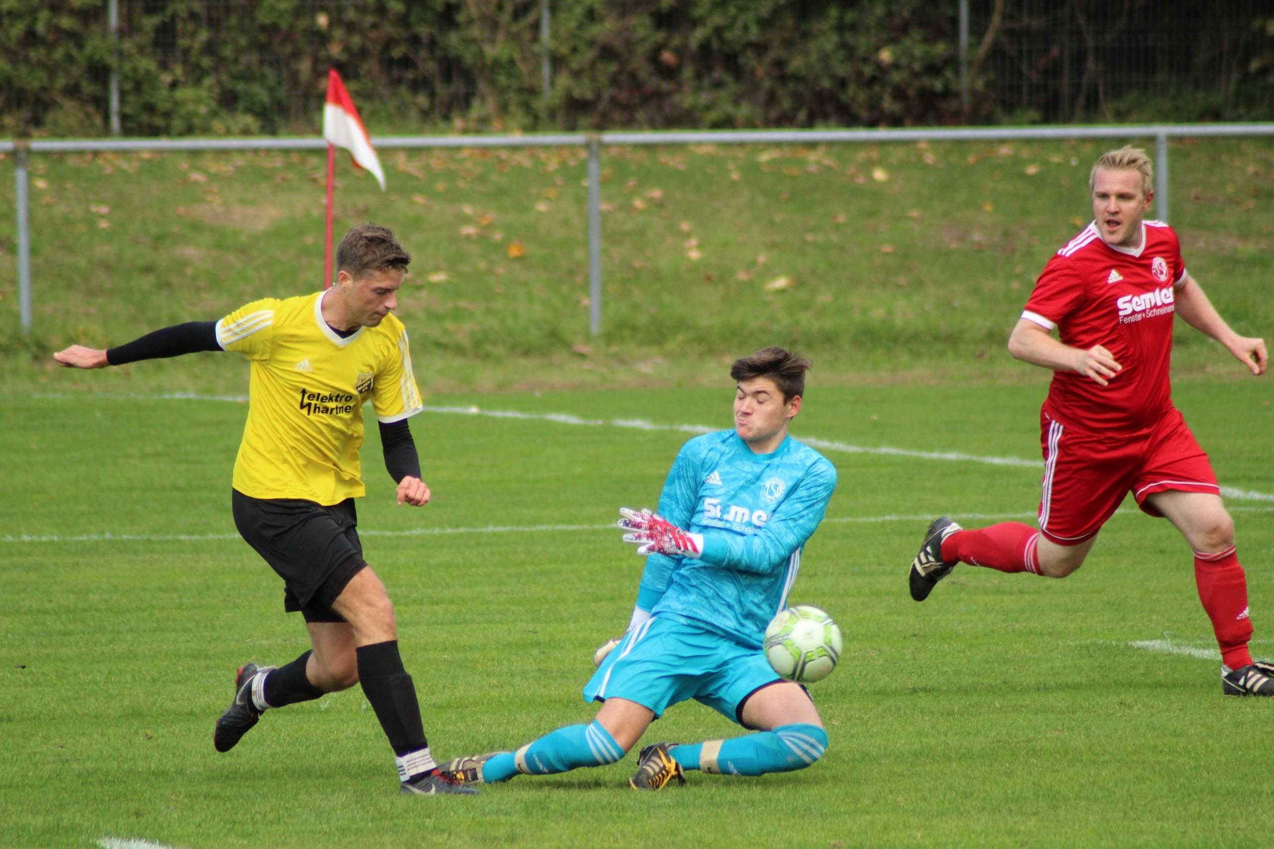 11.10.2020: TSV Dietenheim II - SV Beuren II
