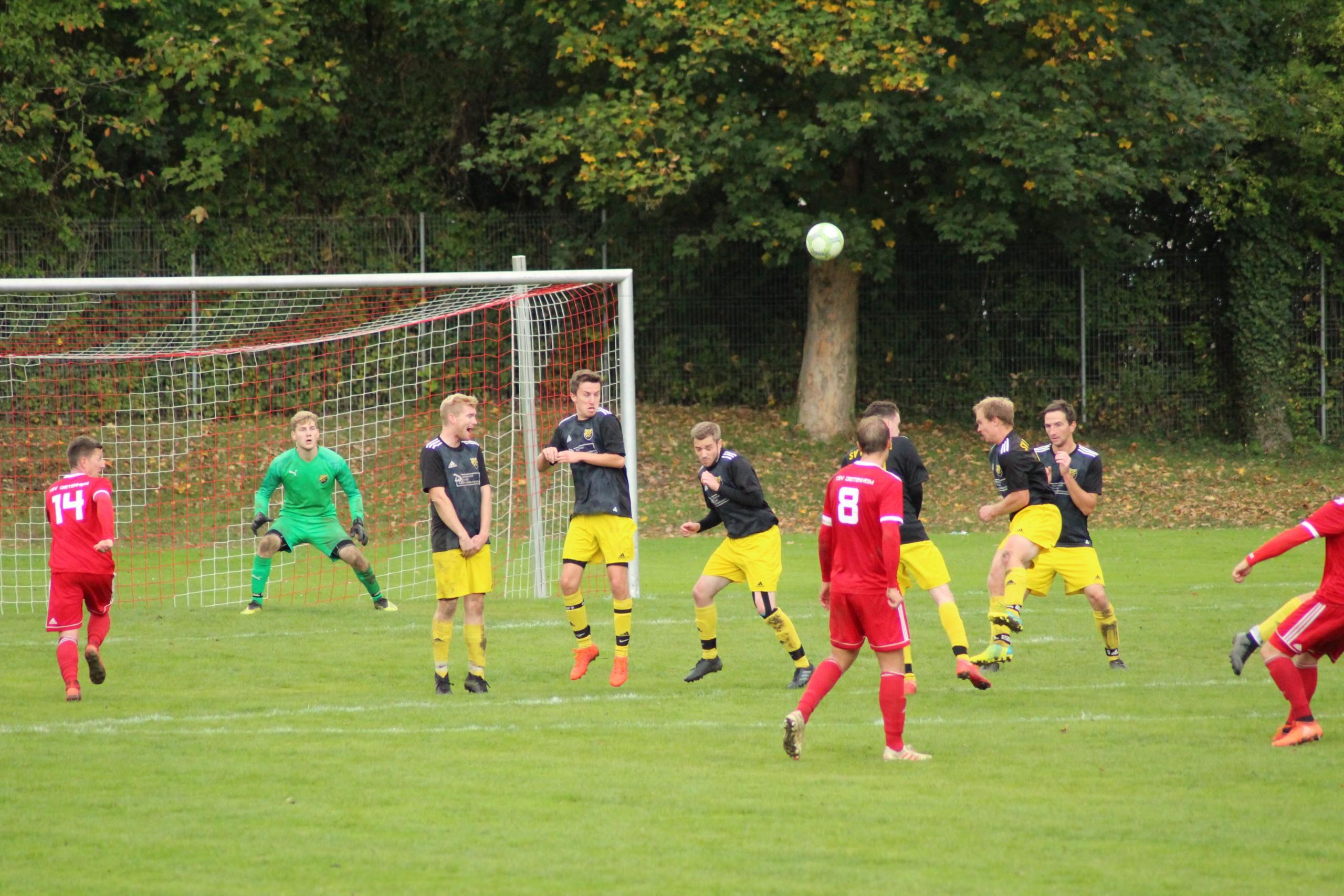 11.10.2020 - TSV Dietenheim I - SV Beuren I 0:1 (0:1)