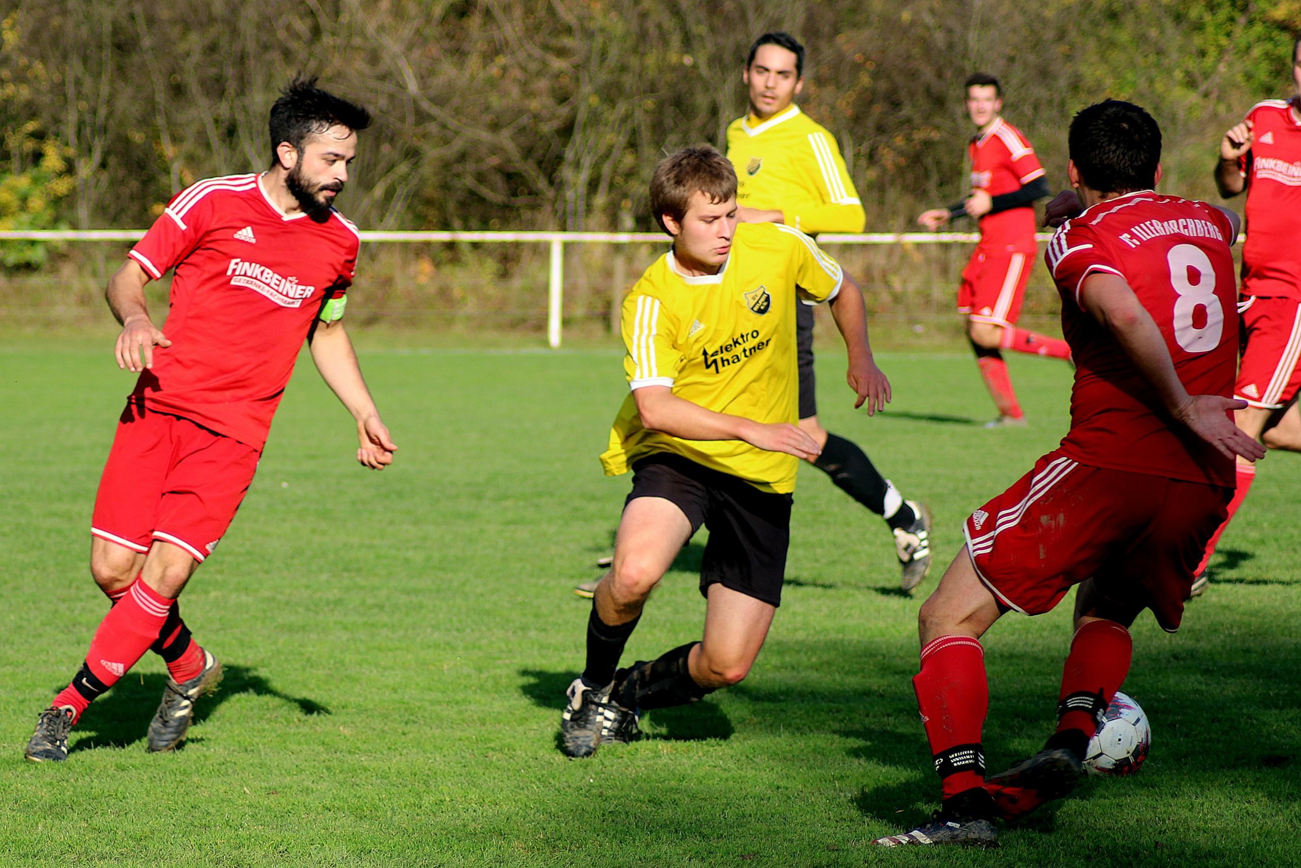 25.10.2020: FC Illerkirchberg II - SV Beuren II 1:4 (0:3)
