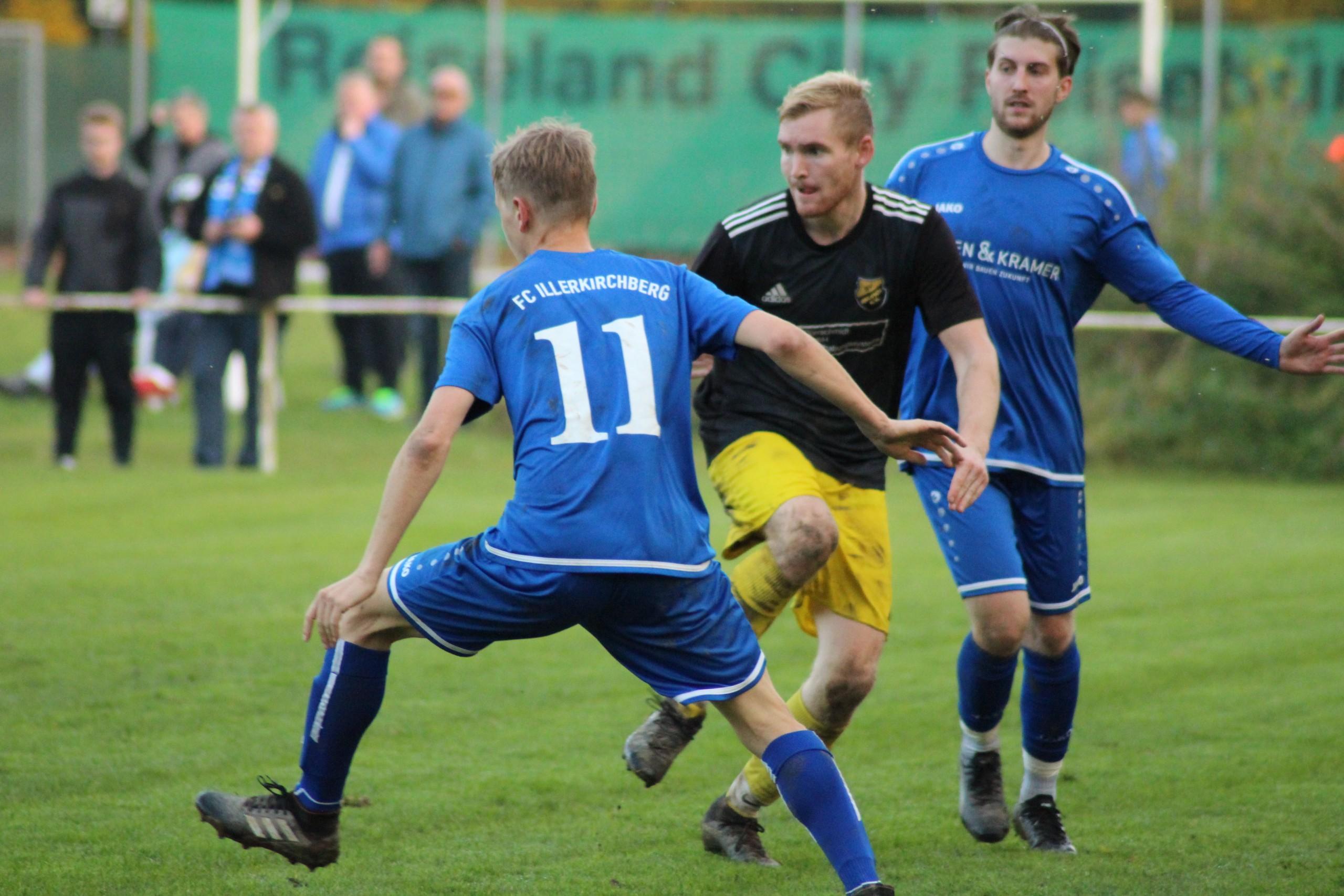 25.10.2020: FC Illerkirchberg ) - SV Beuren I 1:1 (0:0)