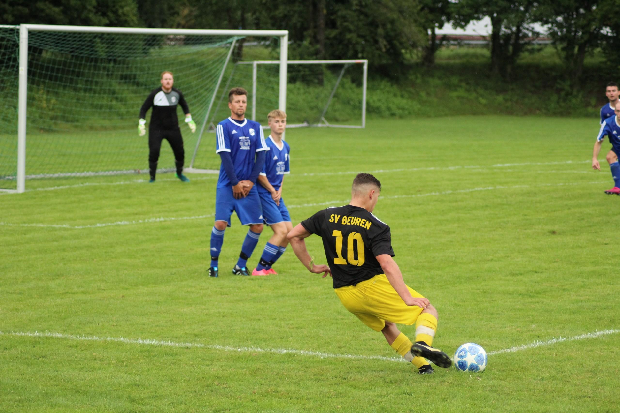 22.08.2021 SV Jedesheim I - SV Beuren I