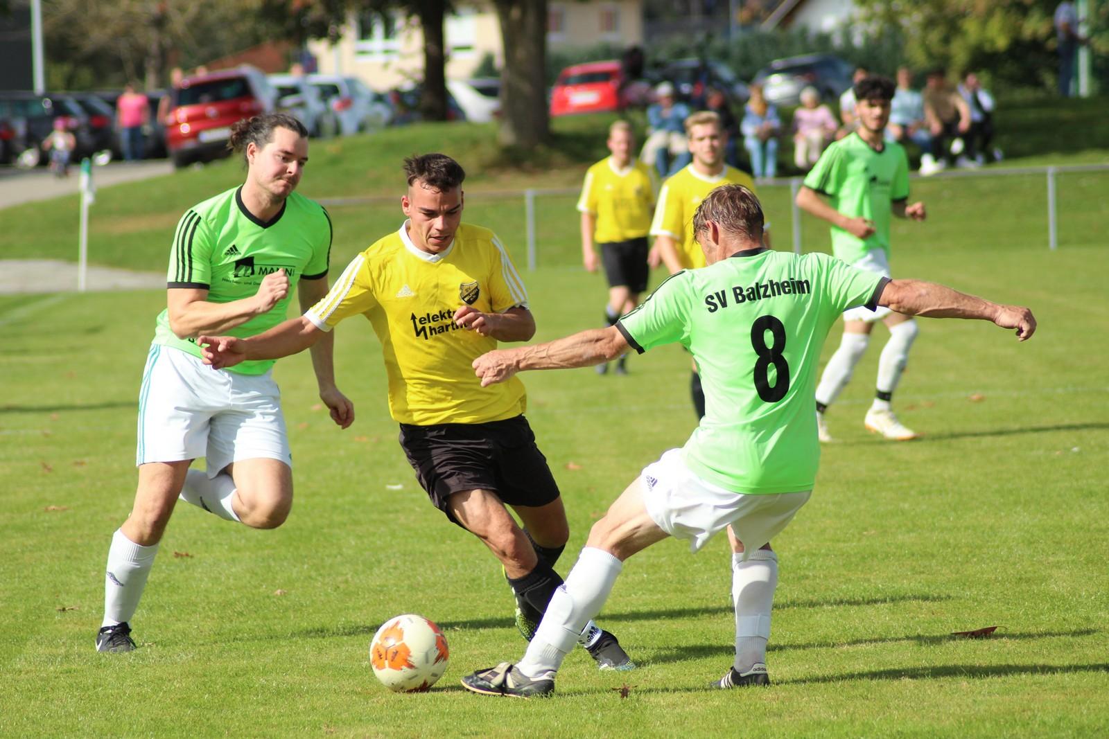 03.10.2021: SV Balzheim II - SV Beuren II